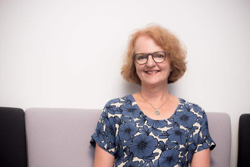 Liz Childs, pelvic health physiotherapist