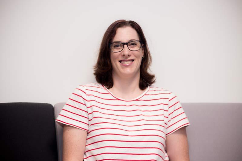 Sarah Boyle, pelvic health physiotherapist